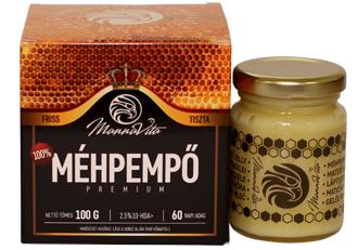 Méhpempő Prémium 2,5% 10-HDA, 100g