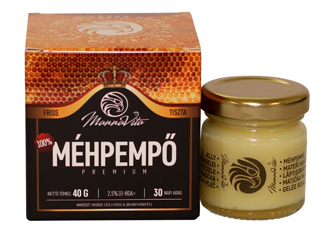 Méhpempő Prémium 2,5% 10-HDA, 40 g