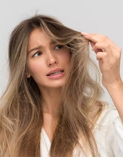 Vékony haj kezelés méhpempővel